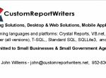 Custom Report Writers
